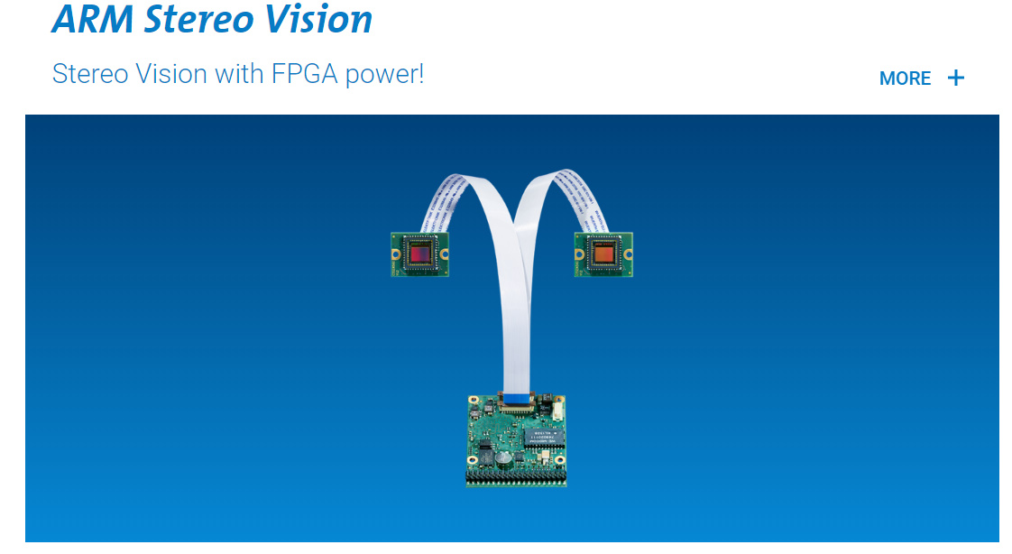 Nano Trend 3D Camera vision component Embaded vision system